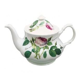 Roy Kirkham Redoute Rose Teapot