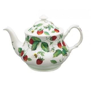 Roy Kirkham Alpine Strawberry Teapot