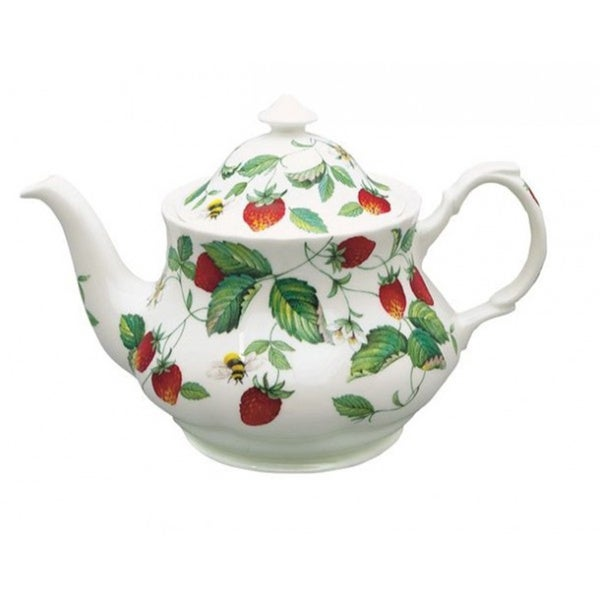 Roy kirkham alpine strawberry teapot free shipping today for Alpine cuisine fine porcelain