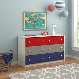 Ameriwood Home Kaleidoscope Classic 6-drawer Dresser by Cosco|https://ak1.ostkcdn.com/images/products/11189285/P18180966.jpg?impolicy=medium