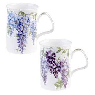 Roy Kirkham Lancaster Wisteria Mugs (Set of 6)