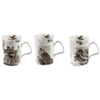 Roy Kirkham Lancaster Woodland Scenes Mugs (Set of 6)
