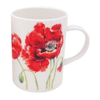 Roy Kirkham Lancaster Garden Poppy Mugs (Set of 6)
