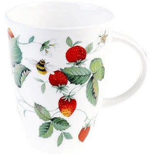 Roy Kirkham Louise Alpine Strawberry Mugs (Set of 6)