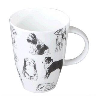Roy Kirkham Louise Boundless Dogs Mugs (Set of 6)