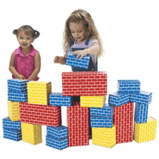 Smart Monkey Toys Giant 24-piece Building Block Set|https://ak1.ostkcdn.com/images/products/11189356/P18180999.jpg?impolicy=medium