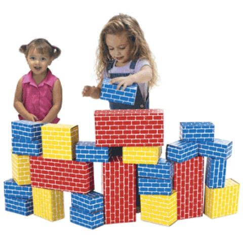 Smart Monkey Toys Giant 24-piece Building Block Set