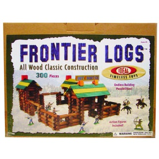 Ideal Timeless Toys 300-piece Frontier Logs
