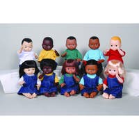 MARVEL EDUCATION COMPANY Multi-Ethnic School Doll (Set of 10)