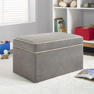 Baby Relax Hadley Dark Taupe Storage Ottoman