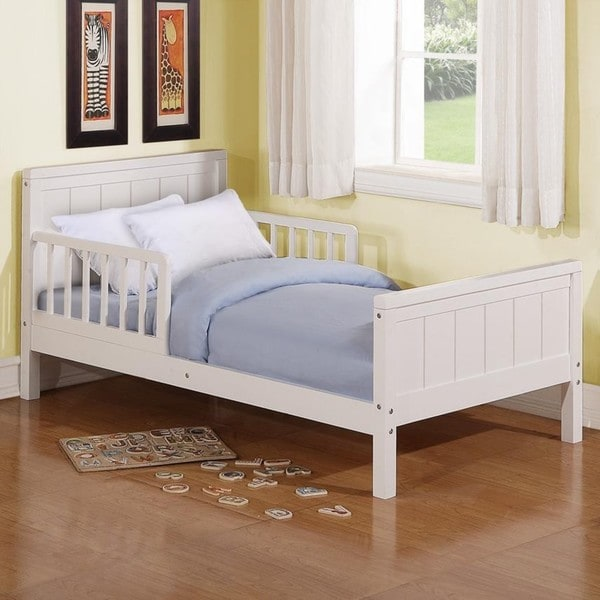 Baby Relax White Toddler Bed
