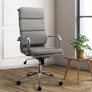 Furniture of America Konan Padded High Back Office Chair
