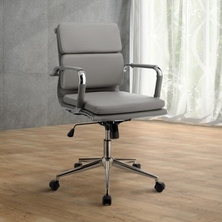 Furniture of America Konan Padded Standard Back Office Chair