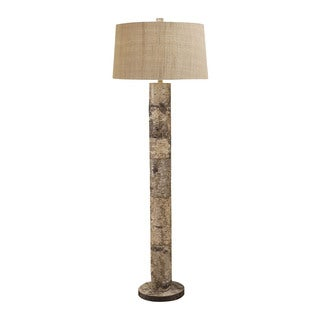 Lamp Works Aspen Bark Floor Lamp