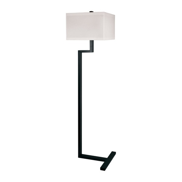 Lamp Works Right Angle Metal Floor Lamp In Bronze