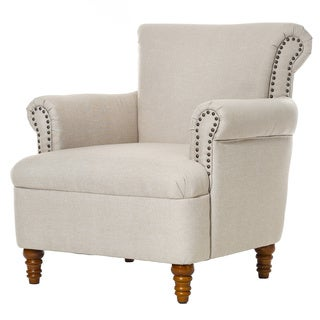 Neilson Upholstered Tan Arm Chair