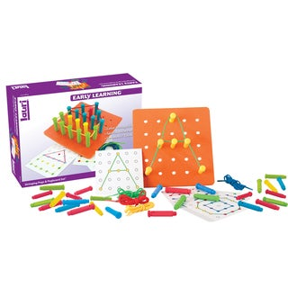 LAURI Stringing Pegs and Pegboard Set