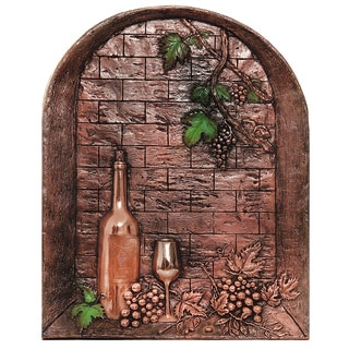 Good Directions Wine Cellar Copper Mural/ Backsplash