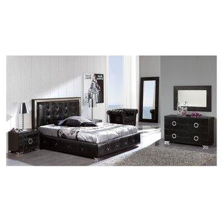 Monaco Queen Size 3 Piece Storage Bedroom Set Free Shipping Today 12439215