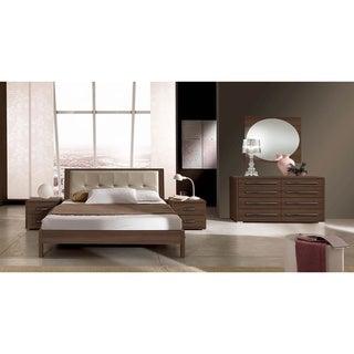 Luca Home Brown Queen Bedroom Set