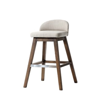 Von Esh Ivory Barstool (Set of 2)