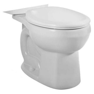 American Standard H2Option White Dual Flush Round Front Bowl