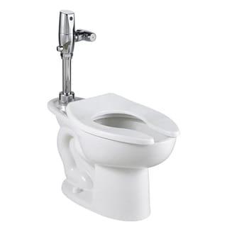 American Standard Madera White EverClean Bowl Top Spud Bedpan