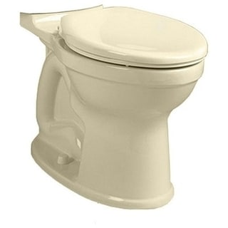 American Standard H2Option Linen Dual Flush Right Height Elongated Bowl