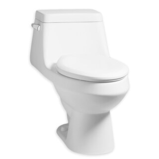 American Standard Fairfield White High-efficiency Toilet with Seat