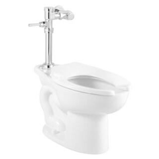 American Standard Madera Elongated 1.28 GPF Manual Flushing Valve System