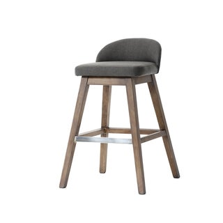 Von Esh Dark Grey Barstool (Set of 2)