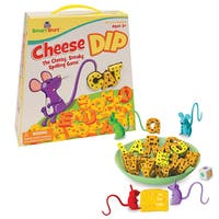 PATCH Cheese Dip Board Game - Yellow/Orange