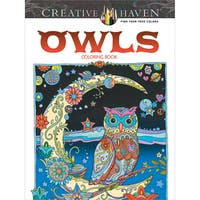 Dover Publications Creative Haven Owls
