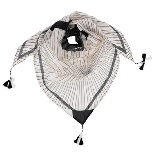 LA 77 Tassel Triangle Wrap