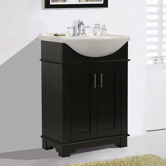 Legion Furniture 24 In Espresso Single Sink Bathroom Vanity Free Shipping Today 18181455