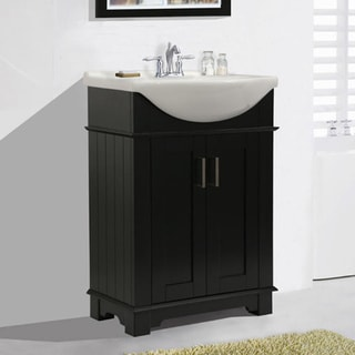 Legion furniture 24 inch espresso single sink bathroom for Legion furniture 30 inch bathroom vanity