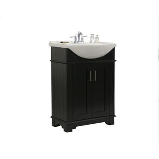 Espresso Single Sink Bathroom Vanity