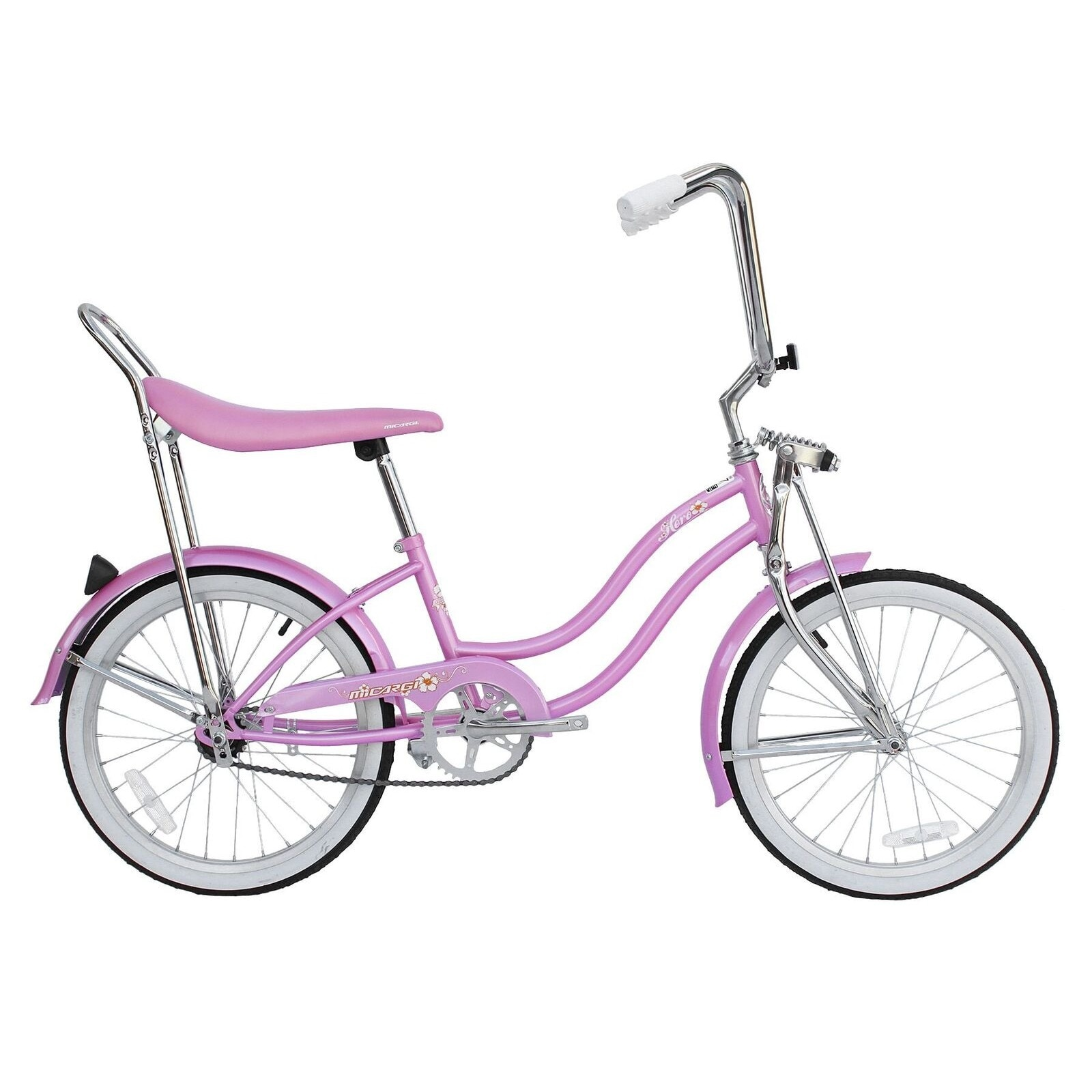 "Ladies Hero 20"" Beach Cruiser (Hero-F-PK), Pink, Size 20-..."