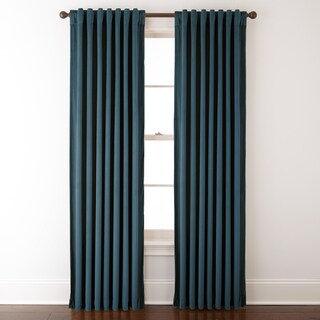 Nanshing Velvet 54 x 84-inch Solid Single Curtain Panel - 54X84