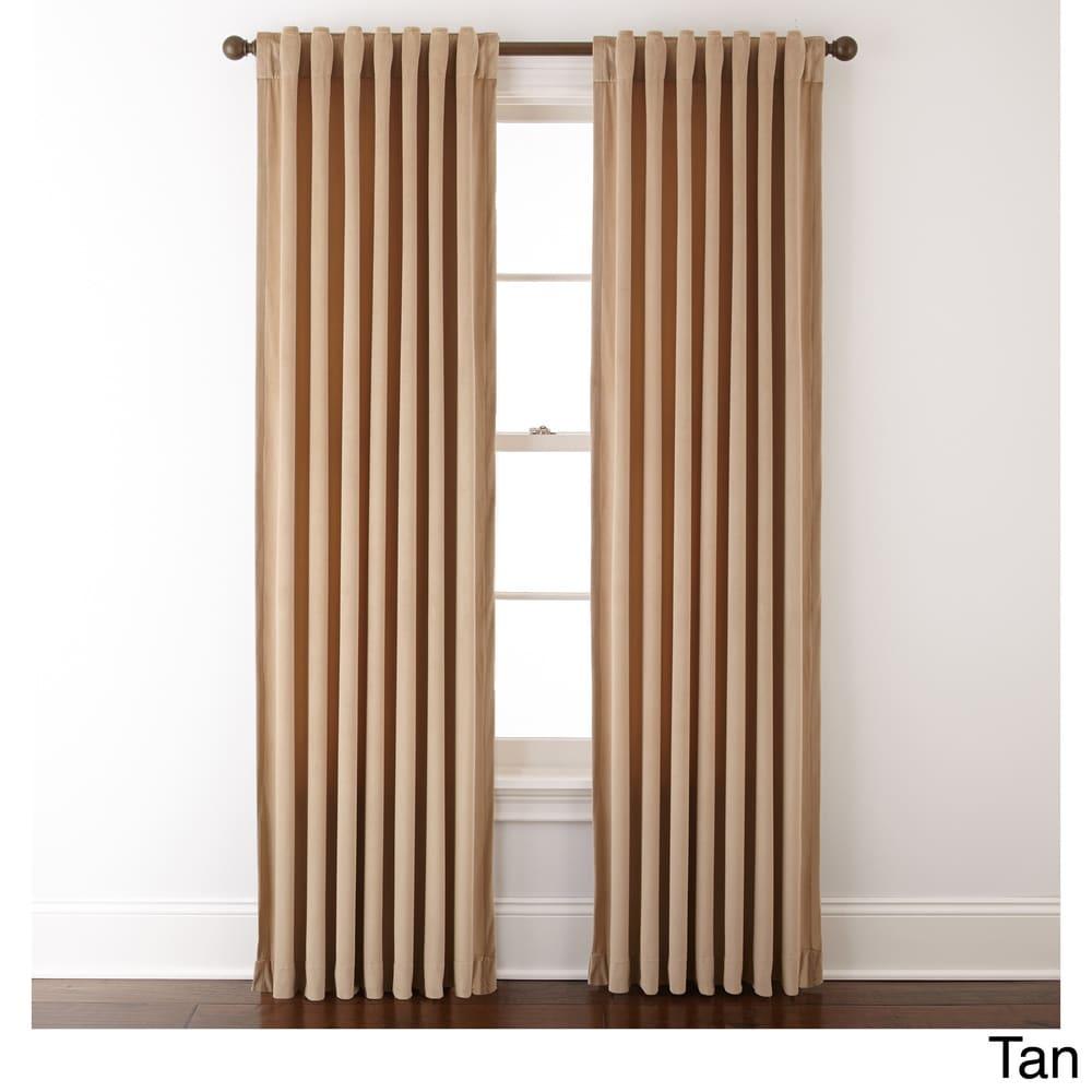 Shop Grand Avenue Remedy 54 x 84-inch Solid Single Curtain Panel - 54X84 - 11189926