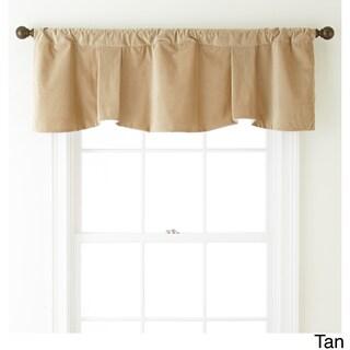 Nanshing Velvet 54 x 18-inch Solid Curtain Valance - 54 x 18