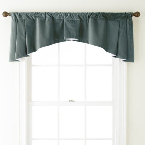 Grand Avenue Remedy 54 x 20-inch Solid Curtain Valance - 54 x 20
