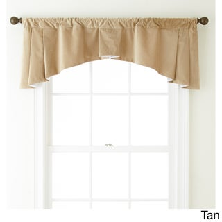 Nanshing Velvet 54 x 20-inch Solid Curtain Valance - 54 x 20