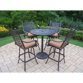 Oakland Living Sunbrella Aluminum 5-piece Bar Set