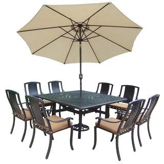 Ravenna Sunbrella Aluminum 11-piece Dining Set
