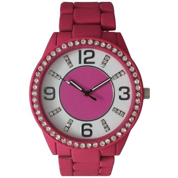 Olivia Pratt Bright Bracelet Rhinestone Watch
