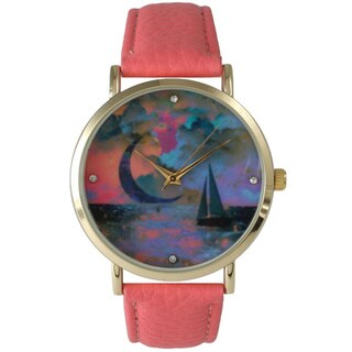 Olivia Pratt Twilight Sailboat Women's Watch
