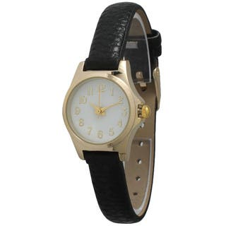 Olivia Pratt Petite Vintage Style Women's Watch|https://ak1.ostkcdn.com/images/products/11190073/P18181621.jpg?impolicy=medium