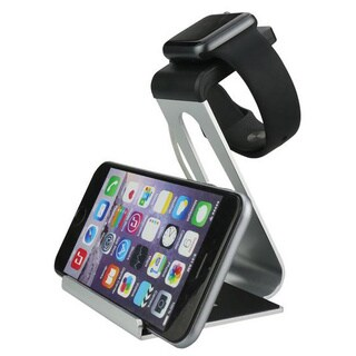 iPM Aluminum Alloy Dual Apple Watch Stand and iPhone Dock