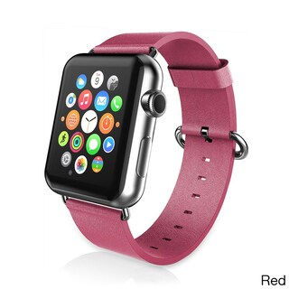 iPM PU Leather Replacement Band for Apple Watch (42mm)